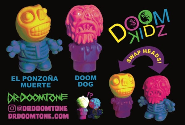 Image of Doom Kidz 2 figure set- Five Points Exclusive Colorway