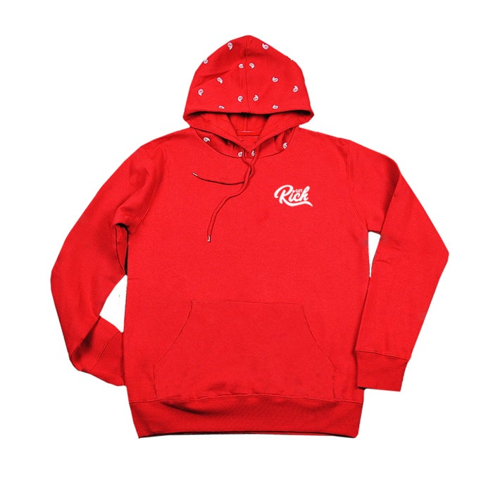 "Image of Get Rich ""Unity"" Hoodie - Red/White"