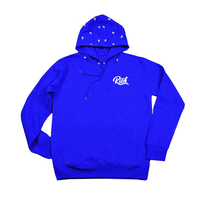 "Image of Get Rich ""Unity"" Hoodie - Blue/White"