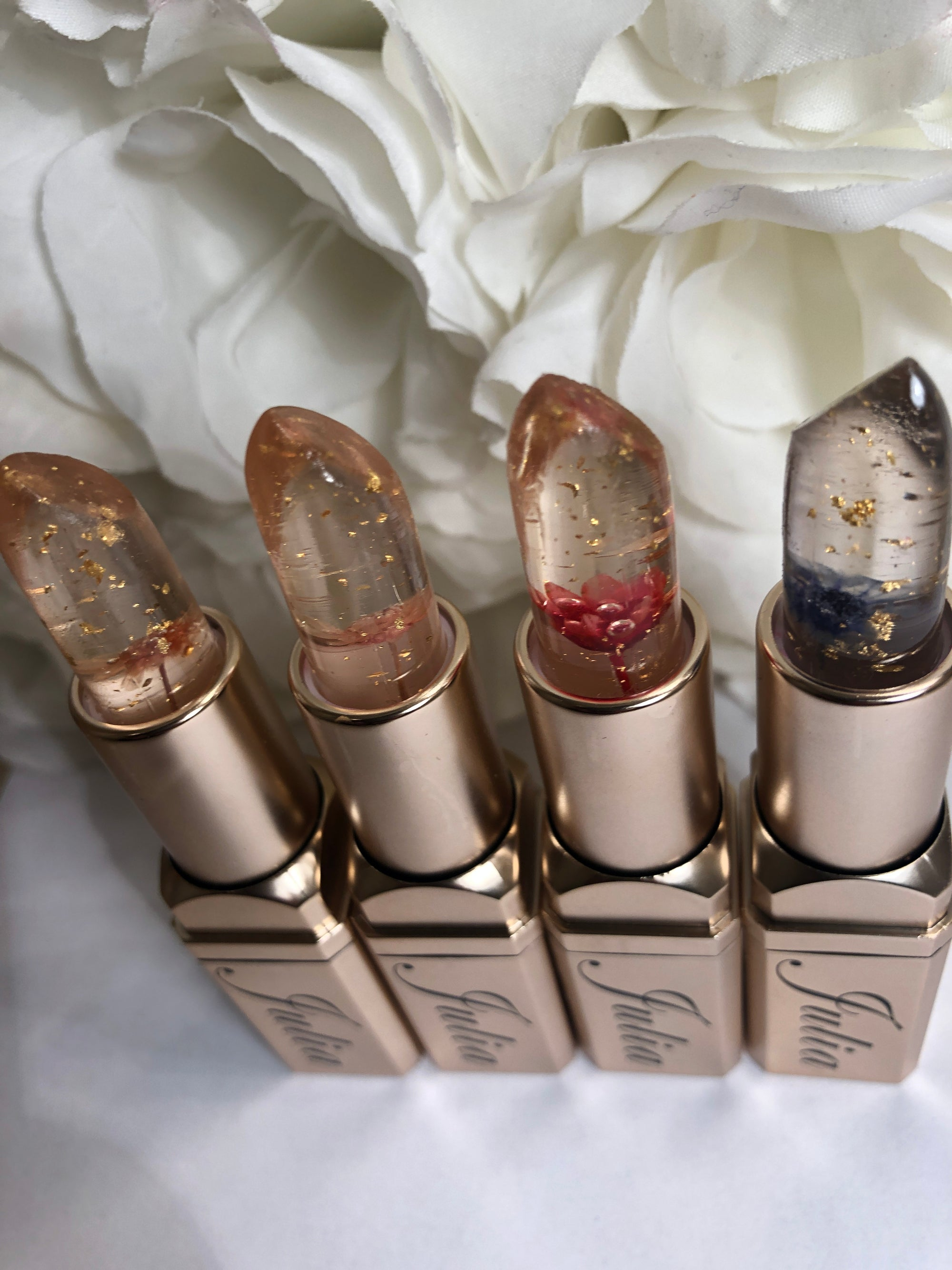 Image of Julia' Blossom Pops Lipsticks