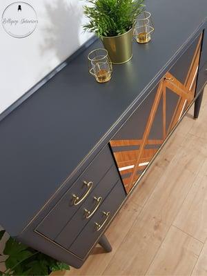 Image of Mid century modern sideboard in ash grey