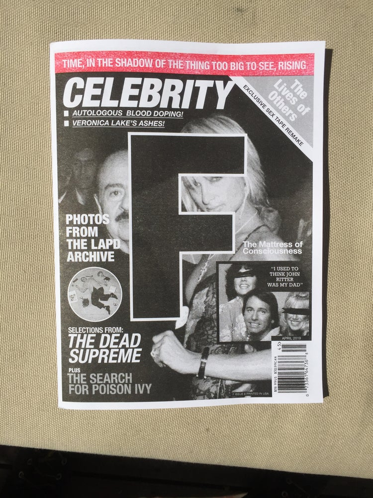 Image of F issue 8: CELEBRITY