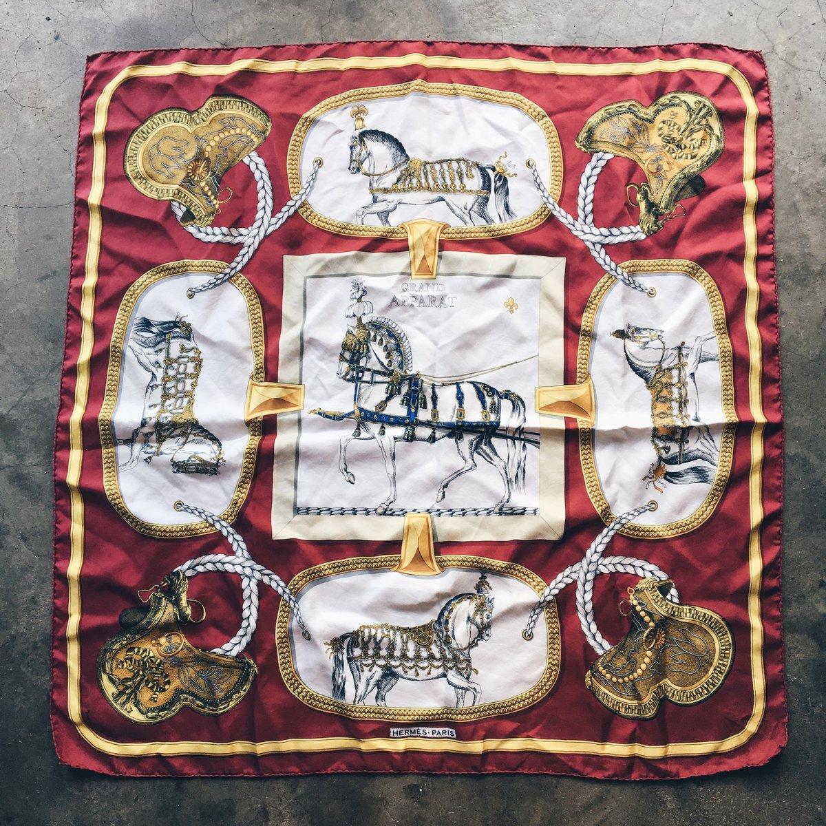 Image of Original Vintage 90's Bootleg Hermès Tapestry.