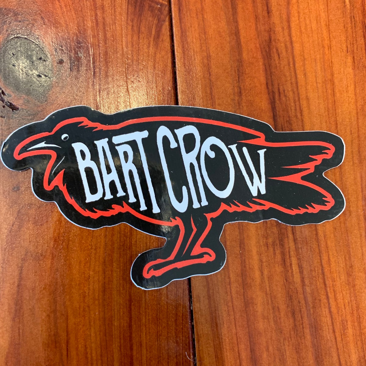 Image of BC Crow Sticker