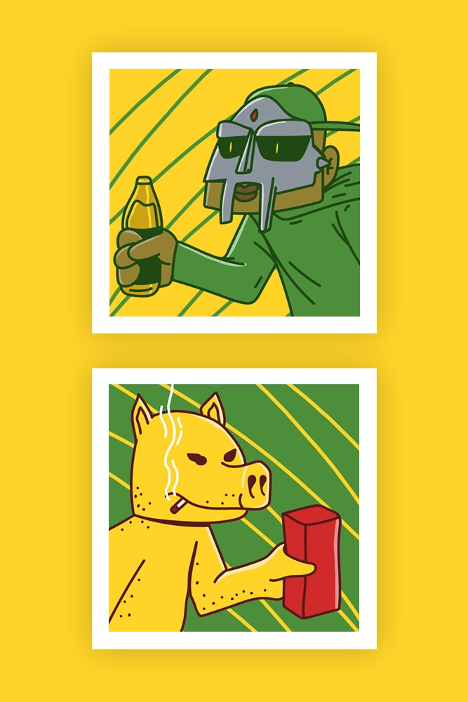 Image of Duo Series - Lord Quas X MF DOOM