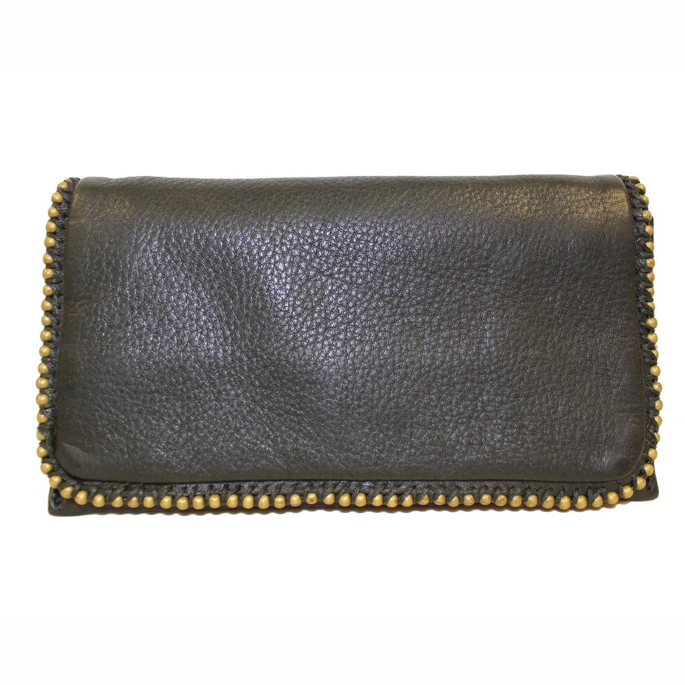Image of Naomi Leather Wallet - Black