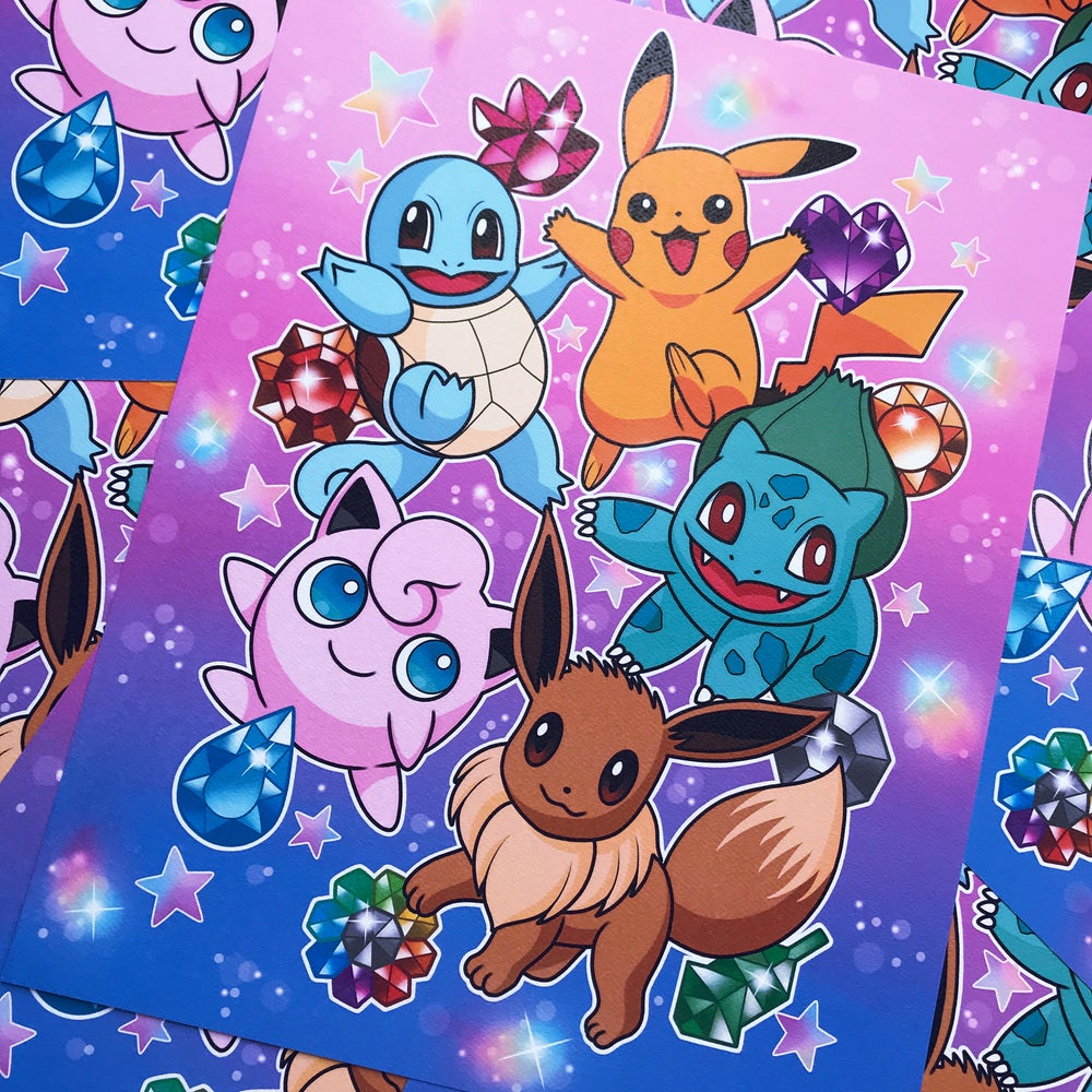 Image of 'Gotta Catch Em All' Print