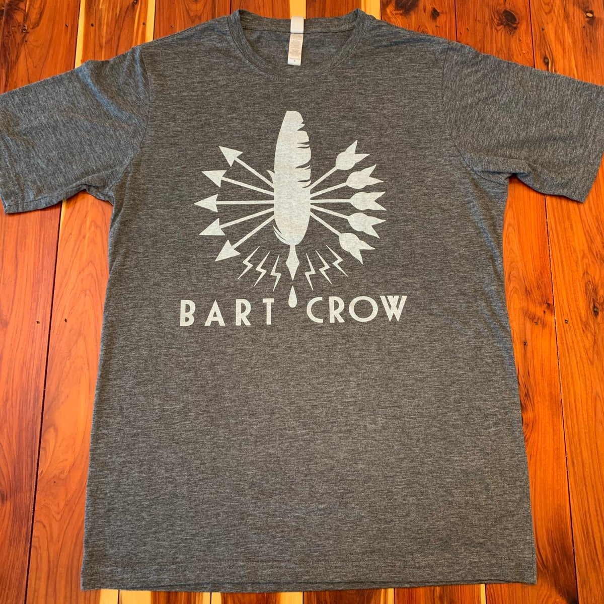 Image of Grey Feather T-shirt