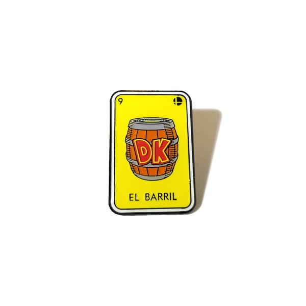 Image of El Barril lapel pin