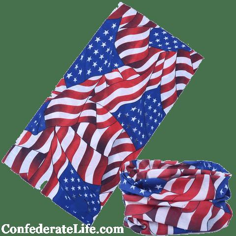 Image of American Flag Tubular Face Mask/Buff