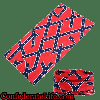 Image of Rebel Confederate Tubular Face Mask/Buff Shield