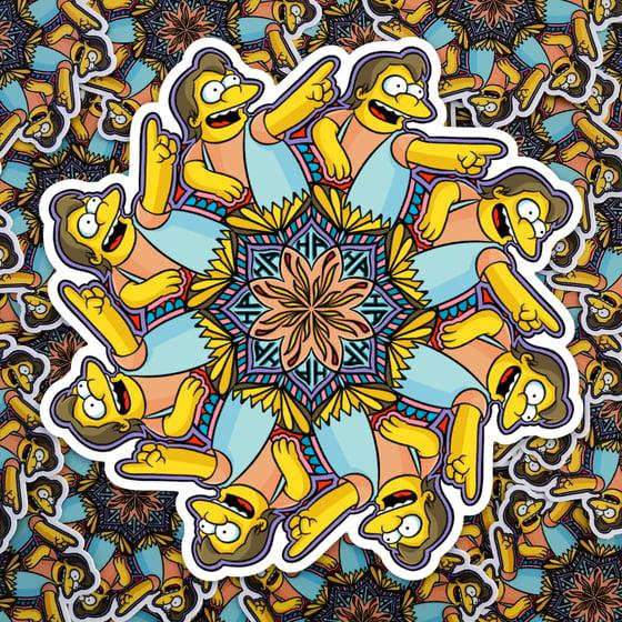 Image of Nelson Mandala Sticker