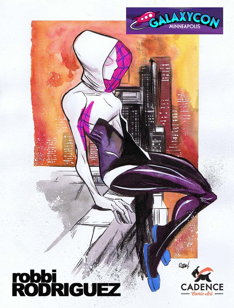 Image of Robbi Rodriguez Minneapolis Galaxy Con Pre-Show Commission (Pick-up)