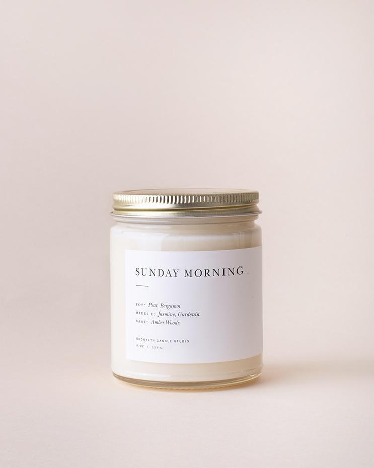 Image of Sunday Morning Minimalist Candle