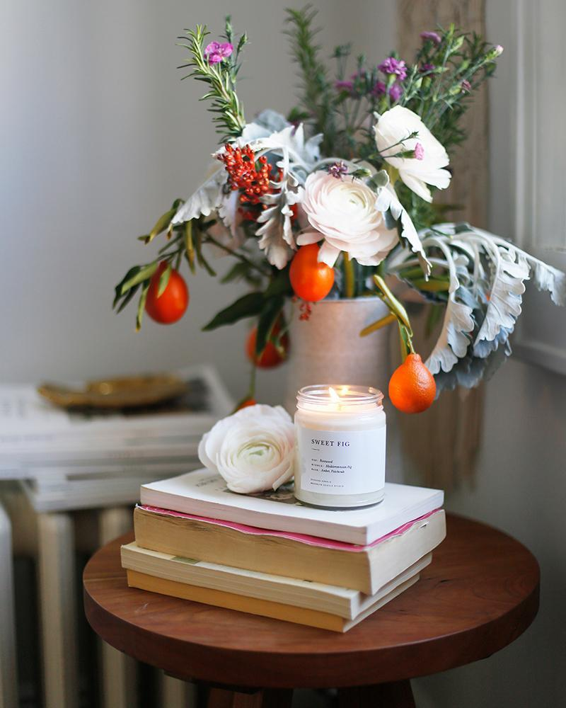 Image of Sweet Fig Minimalist Candle