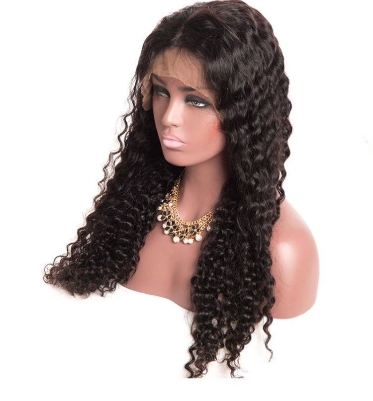 Image of Deep Wave Full Lace Wig