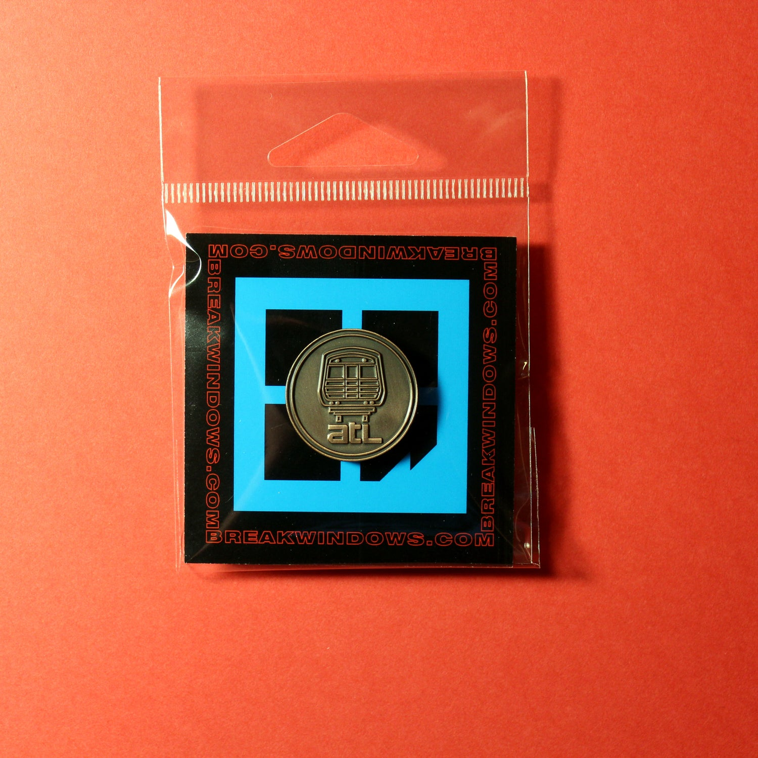 Image of BEFORE BREEZE CARDS PIN