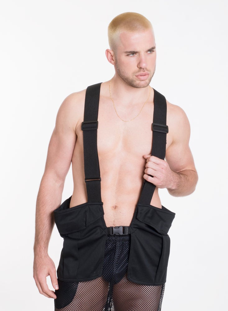Image of GYM VEST- BLACK