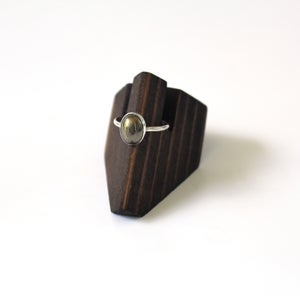 Image of Pyrite Sterling Silver Ring