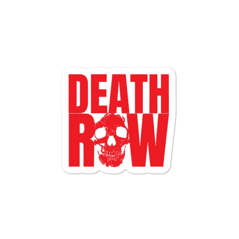 Image of Death Row Sticker
