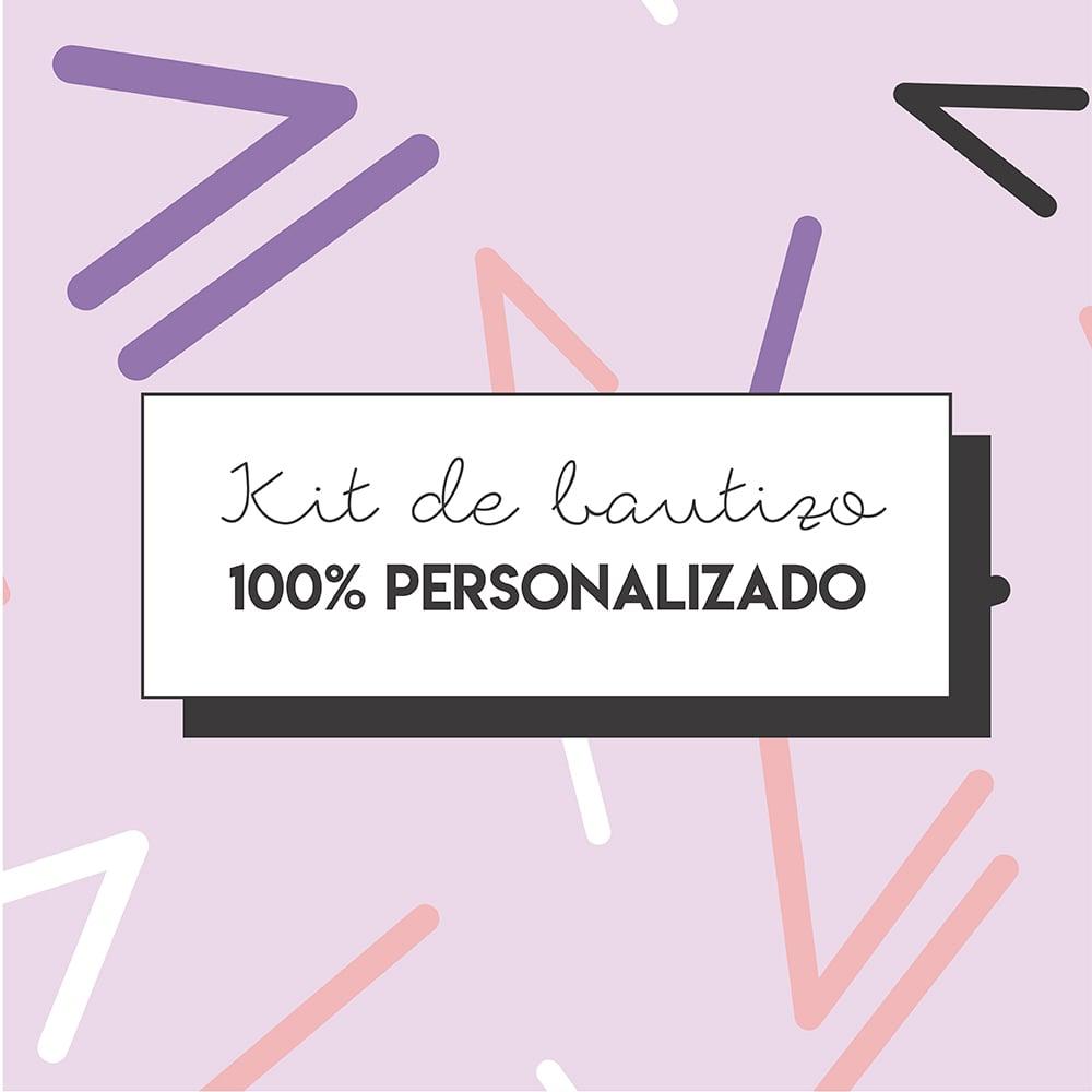 Image of Kit de Bautizo 100% Personalizado