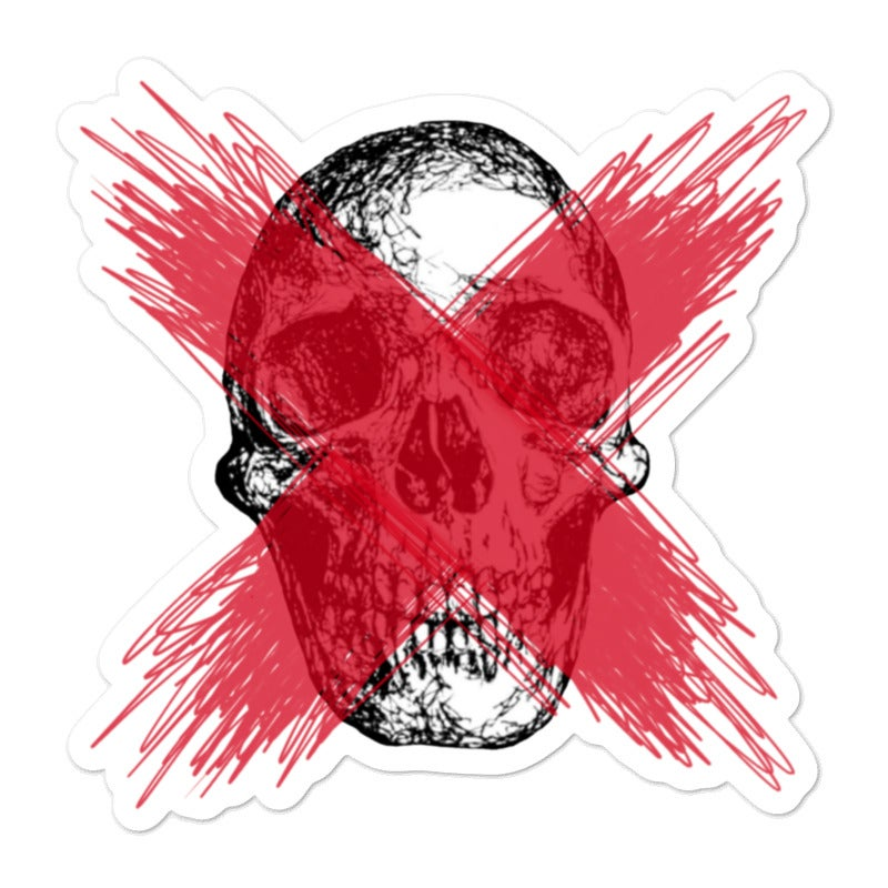 Image of X Sticker