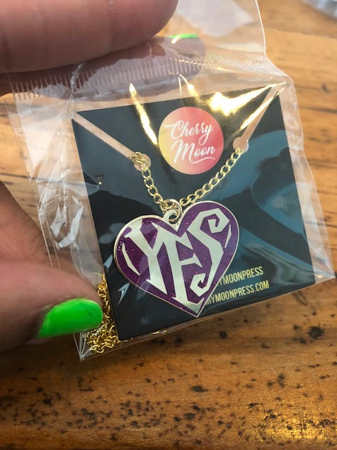 Image of YES Necklace (MULTIPLE COLORS)