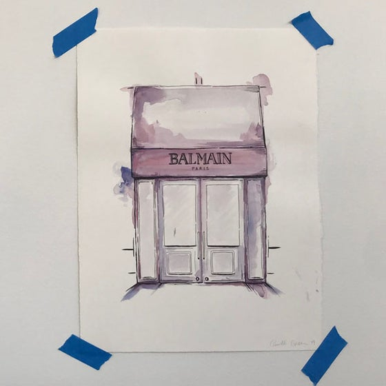 Image of Balmain Original Artwork