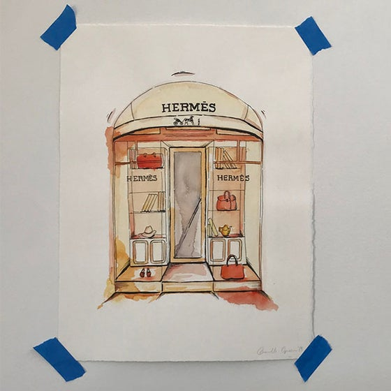 Image of Hermes Original Artwork