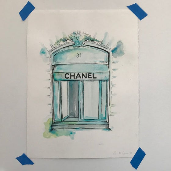 Image of Chanel Original Artwork