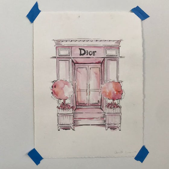 Image of Dior Original Artwork