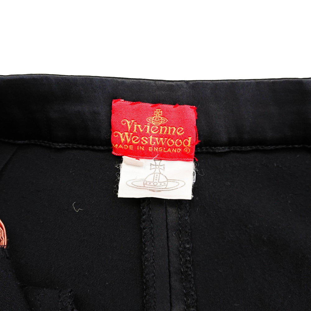 Image of Vivienne Westwood Runway A/W91 Satin Shorts