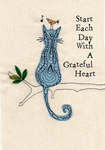 Image of Start each day with a grateful heart