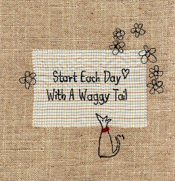 Image of Waggy Tail print