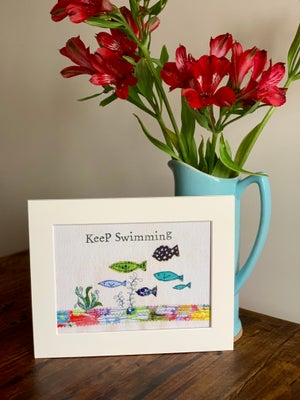 Image of Keep Swimming print