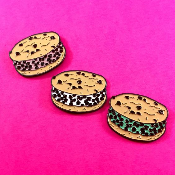 Image of Chipwich Enamel Pin