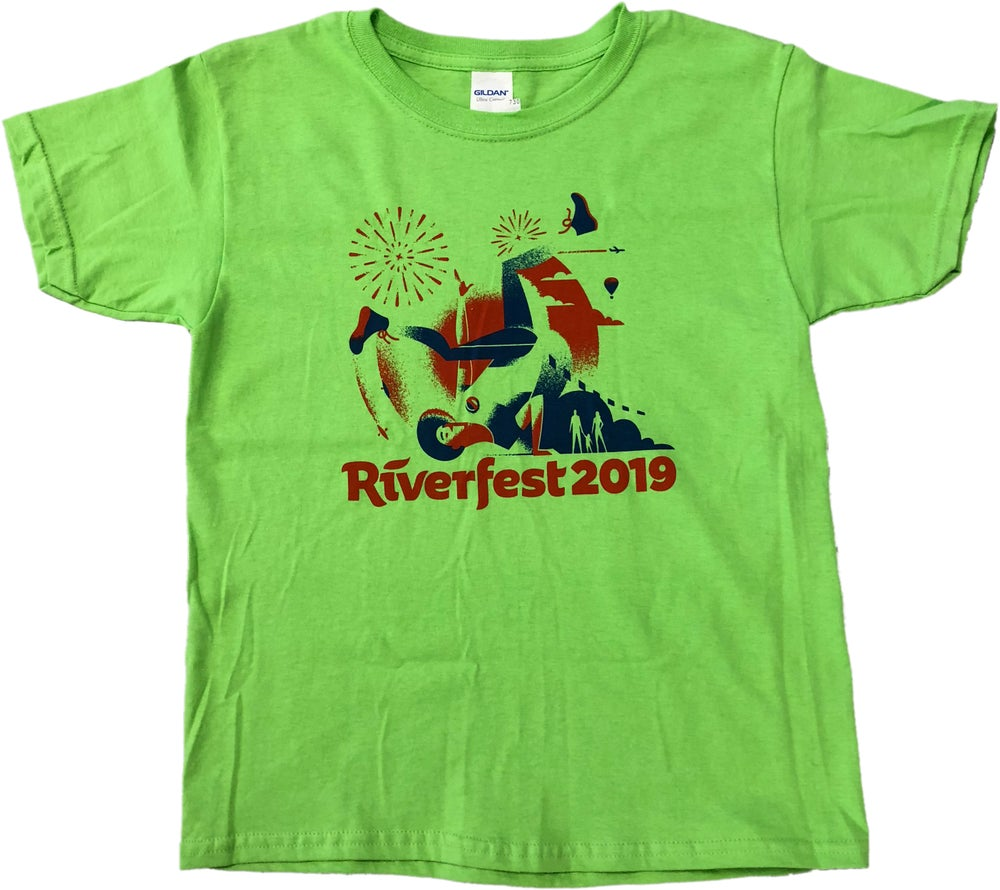 Image of 2019 Kids Iconic Riverfest T-Shirt