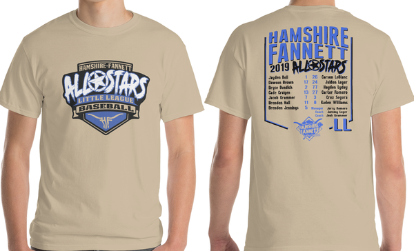 Image of 2019 HF All-Stars Roster Tee