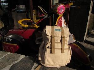 Image of Natural - Adventure Pack - Hemp Backpack | 100% Vegan | Eco Friendly | Handmade | Boho Bag | Organic