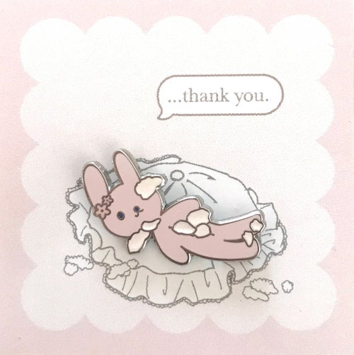 Image of thank you pin