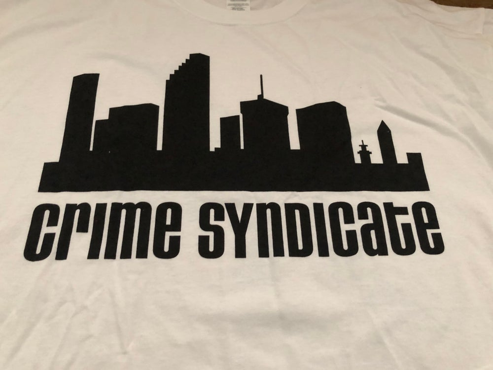 SOILS OF FATE Crime Syndicate T-Shirt