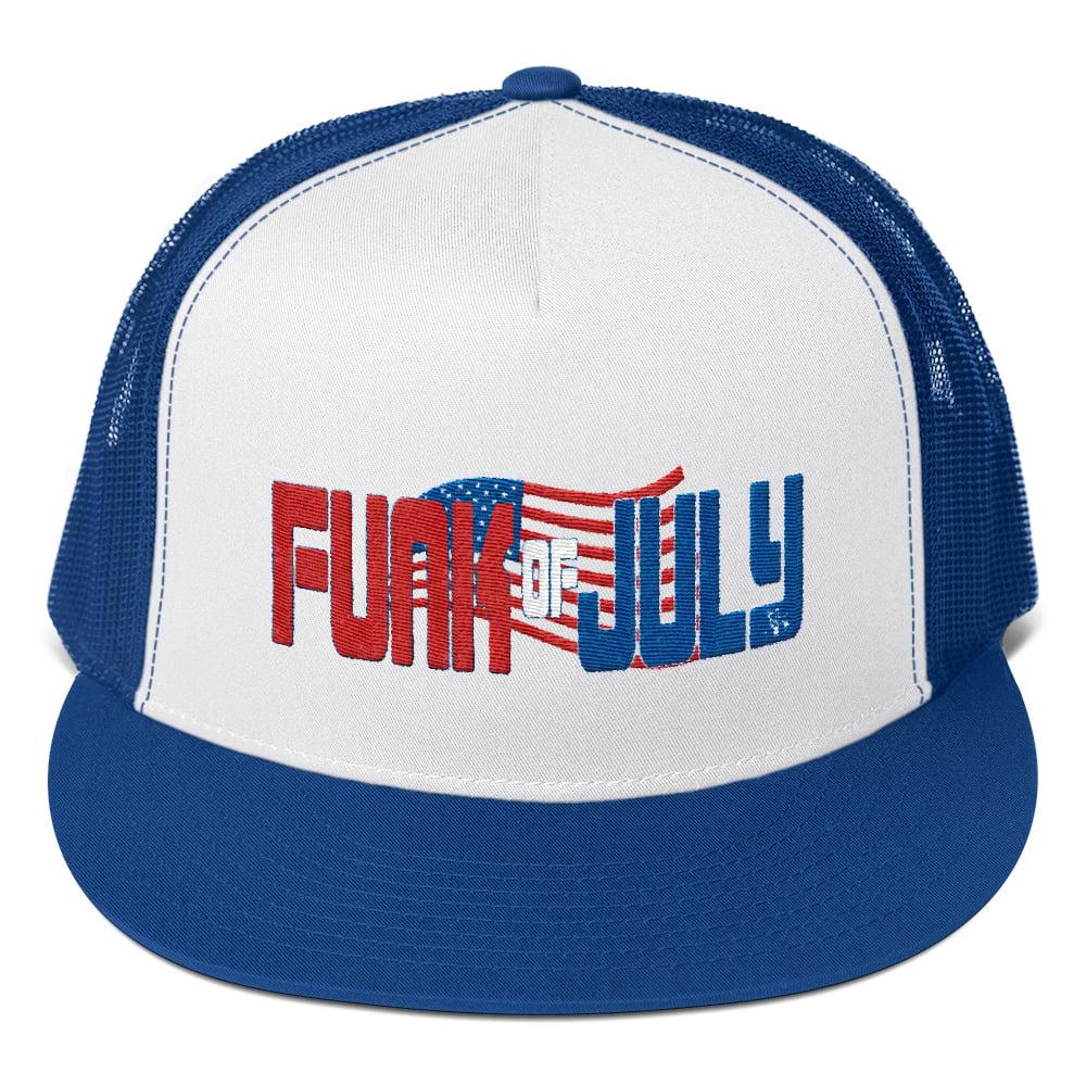 Image of FUNK OF JULY TRUCKER HAT