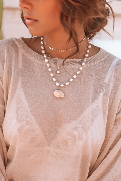 Image of The Pearl Shell Necklace