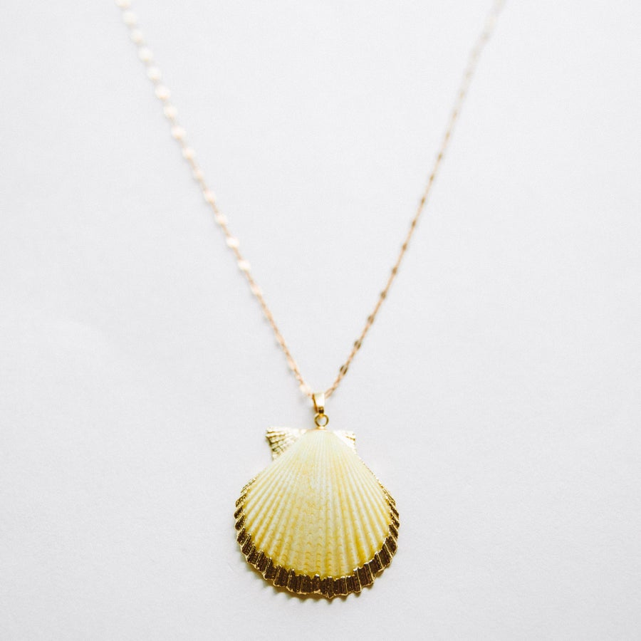 Image of The Yellow Shell Necklace
