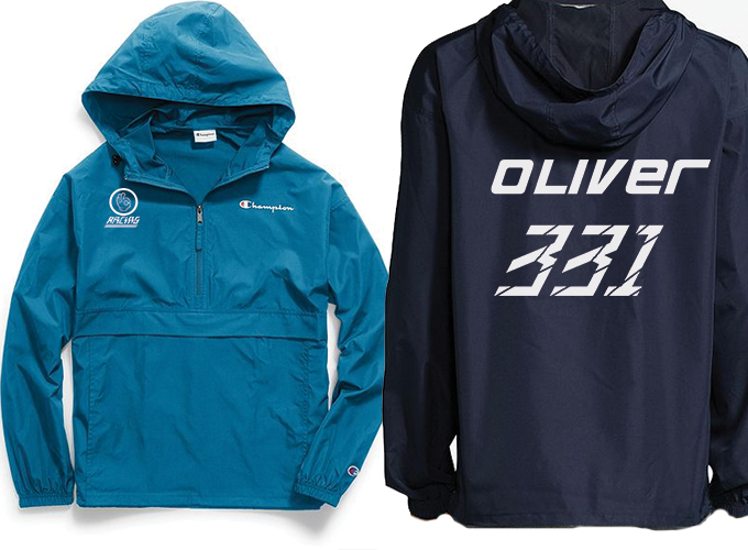 Image of Daniel Oliver Racing Champion Packable Jacket