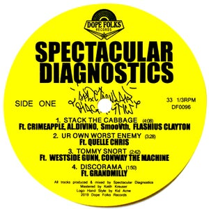 "Image of SPECTACULAR DIAGNOSTICS ""S/T"" EP"