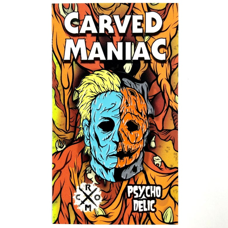 "Image of Carved Maniac ""Ben Tramer"" Version (Enamel Pin)"