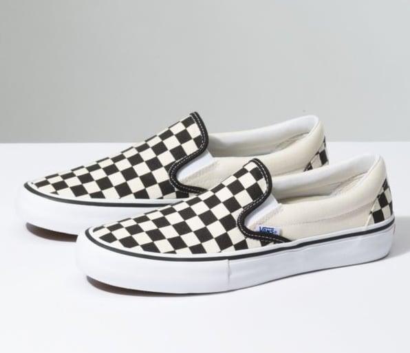 VANS Checkered Slip On Pro   Fast