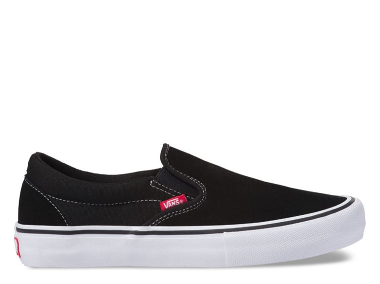 Image of Vans Vans Slip-On Pro - BLK/WHITE