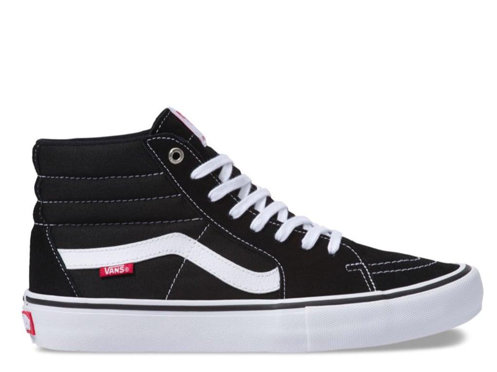 Vans Sk8-Hi Pro | Black/White | Fast Forward Skateshop